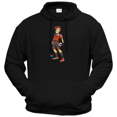 Motiv: Hoodie Premium FAIR WEAR - LootBoy - Kick it like me