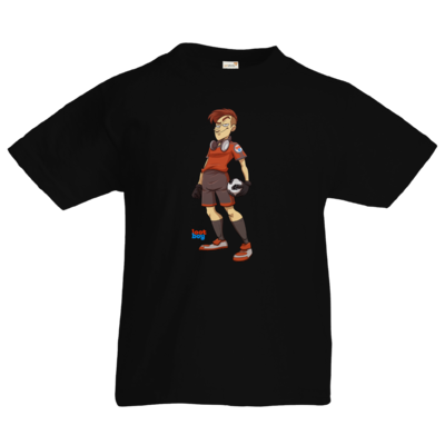 Motiv: Kids T-Shirt Premium FAIR WEAR - LootBoy - Kick it like me