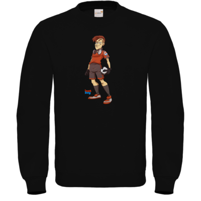 Motiv: Sweatshirt FAIR WEAR - LootBoy - Kick it like me