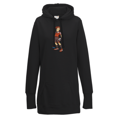 Motiv: Lady Longline Hoodie - LootBoy - Kick it like me