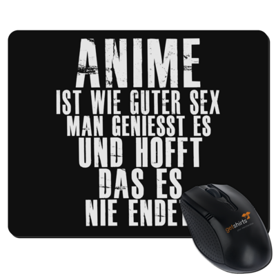 Motiv: Mousepad Textil - Anime Heaven - Wie guter Sex