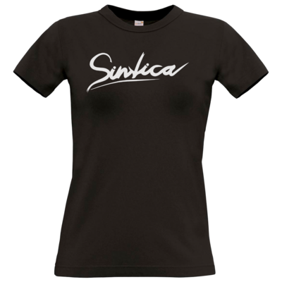 Motiv: T-Shirt Damen Premium FAIR WEAR - Sintica - Logo