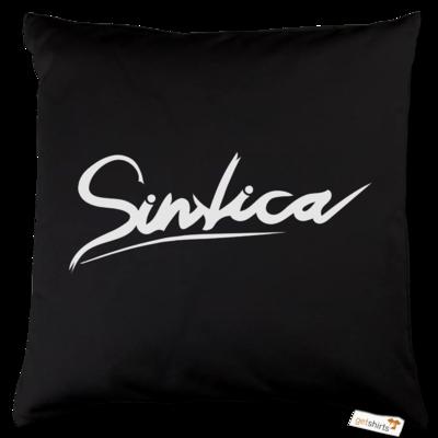 Motiv: Kissen Baumwolle - Sintica - Logo