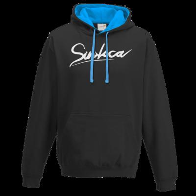Motiv: Two-Tone Hoodie - Sintica - Logo