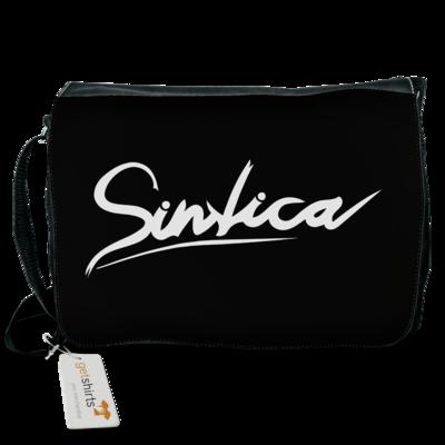 Motiv: Schultertasche - Sintica - Logo