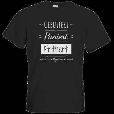 Motiv: T-Shirt Premium FAIR WEAR - Gebuttert & Paniert