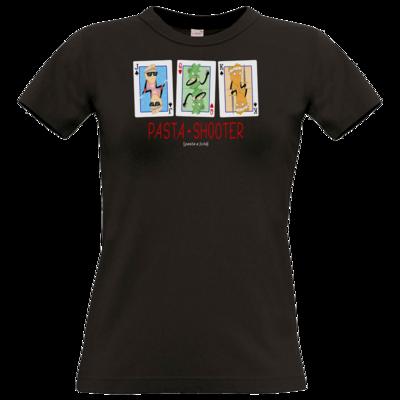 Motiv: T-Shirt Damen Premium FAIR WEAR - Poker