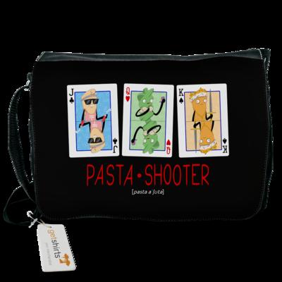 Motiv: Schultertasche - Poker