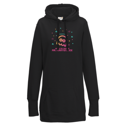 Motiv: Lady Longline Hoodie - Hello My Name Is