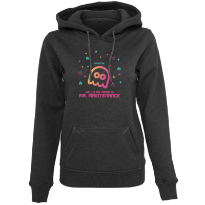 Motiv: Womens Heavy Hoody - Hello My Name Is