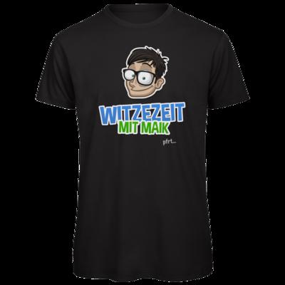 Motiv: Organic T-Shirt - Witzezeit mit Maik