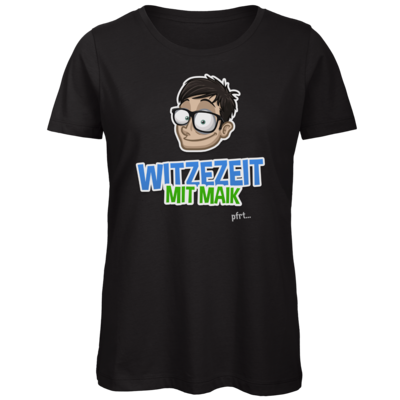 Motiv: Organic Lady T-Shirt - Witzezeit mit Maik