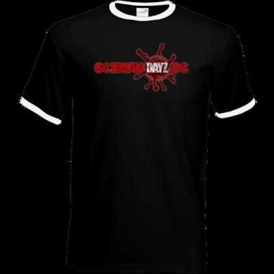 Motiv: T-Shirt Ringer - GDZ Logo