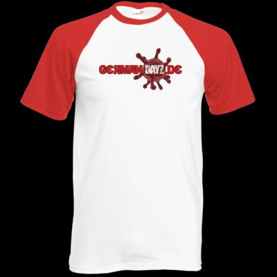 Motiv: TShirt Baseball - GDZ Logo