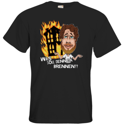 Motiv: T-Shirt Premium FAIR WEAR - Rob Boss - Brennende Haeuser