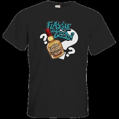 Motiv: T-Shirt Premium FAIR WEAR - Rob Boss - Flasche zu Geld