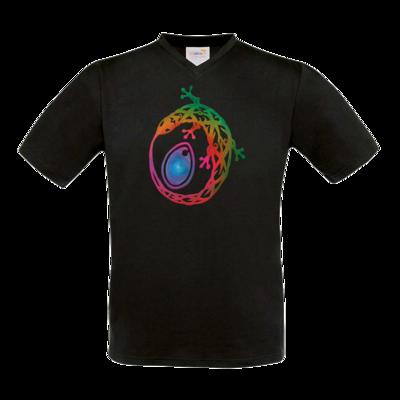 Motiv: T-Shirt V-Neck FAIR WEAR - Götter - Tsa - Symbol