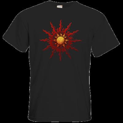 Motiv: T-Shirt Premium FAIR WEAR - Götter - Praios - Symbol