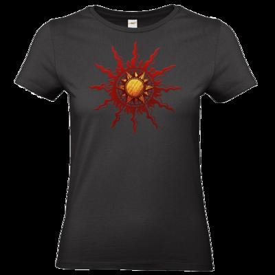 Motiv: T-Shirt Damen Premium FAIR WEAR - Götter - Praios - Symbol