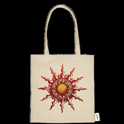Motiv: Baumwolltasche - Götter - Praios - Symbol
