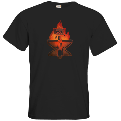 Motiv: T-Shirt Premium FAIR WEAR - Götter - Ingerimm - Symbol