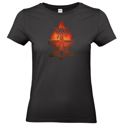 Motiv: T-Shirt Damen Premium FAIR WEAR - Götter - Ingerimm - Symbol
