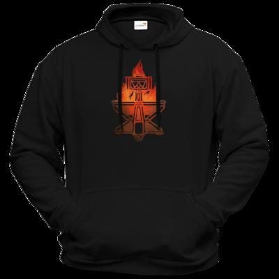 Motiv: Hoodie Premium FAIR WEAR - Götter - Ingerimm - Symbol