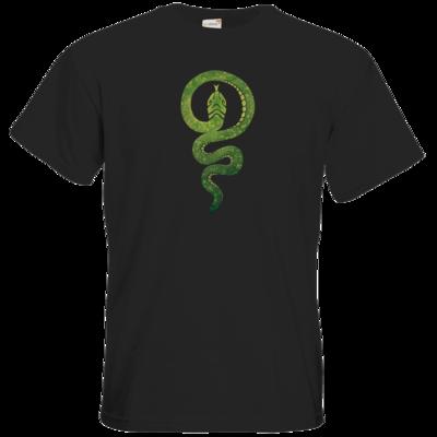 Motiv: T-Shirt Premium FAIR WEAR - Götter - Hesinde - Symbol
