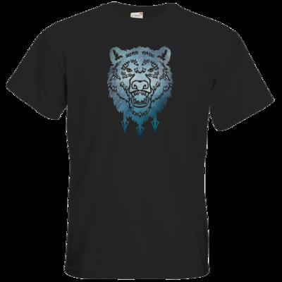 Motiv: T-Shirt Premium FAIR WEAR - Götter - Firun - Symbol