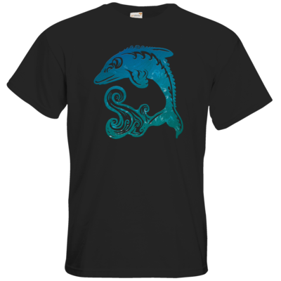 Motiv: T-Shirt Premium FAIR WEAR - Götter - Efferd - Symbol
