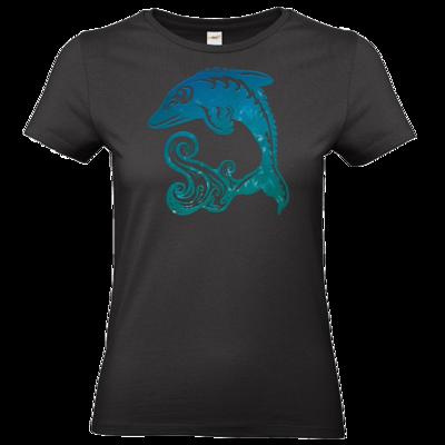 Motiv: T-Shirt Damen Premium FAIR WEAR - Götter - Efferd - Symbol