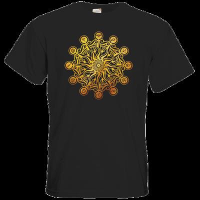 Motiv: T-Shirt Premium FAIR WEAR - Götter - Bund des wahren Glaubens -Symbol