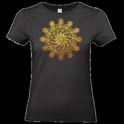 Motiv: T-Shirt Damen Premium FAIR WEAR - Götter - Bund des wahren Glaubens -Symbol