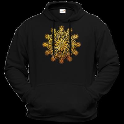 Motiv: Hoodie Premium FAIR WEAR - Götter - Bund des wahren Glaubens -Symbol