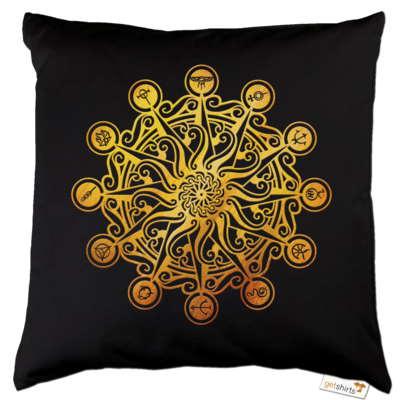 Motiv: Kissen Baumwolle - Götter - Bund des wahren Glaubens -Symbol
