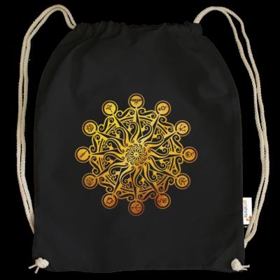 Motiv: Cotton Gymsac - Götter - Bund des wahren Glaubens -Symbol