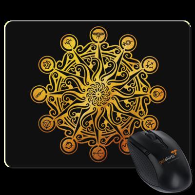 Motiv: Mousepad Textil - Götter - Bund des wahren Glaubens -Symbol
