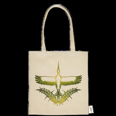 Motiv: Baumwolltasche - Götter - Peraine - Symbol