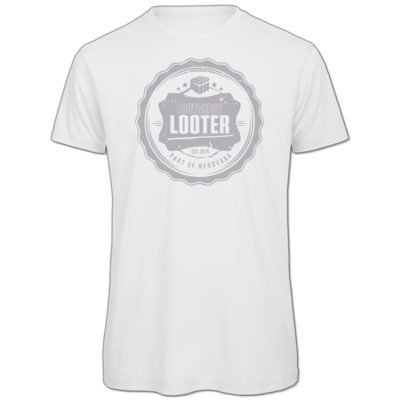 Motiv: Organic T-Shirt - Looter hell
