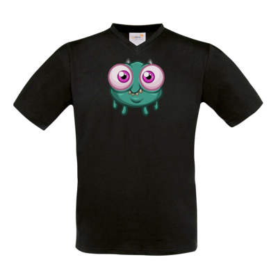 Motiv: T-Shirt V-Neck FAIR WEAR - Submonsterchen