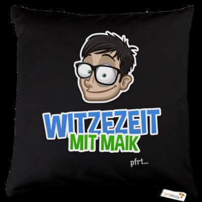 Motiv: Kissen Baumwolle - Witzezeit mit Maik