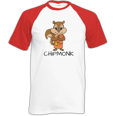 Motiv: Baseball-T FAIR WEAR - drawinkpaper - Chipmonk 1