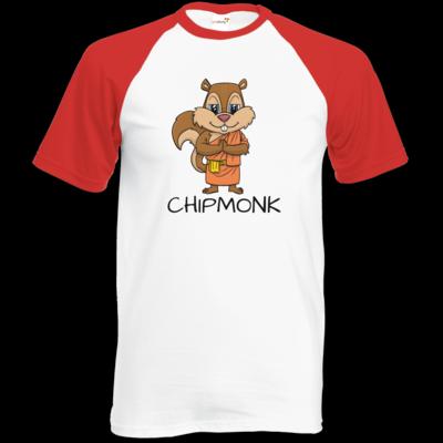 Motiv: Baseball-T FAIR WEAR - drawinkpaper - Chipmonk 1