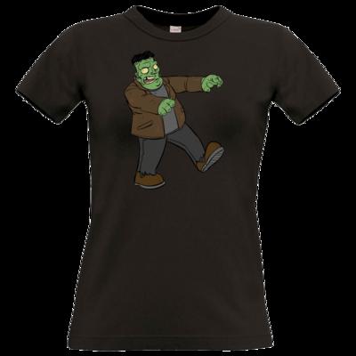 Motiv: T-Shirt Damen Premium FAIR WEAR - Frankenbob
