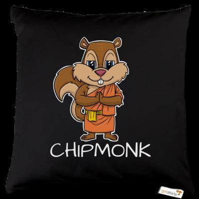 Motiv: Kissen Baumwolle - drawinkpaper - Chipmonk 1