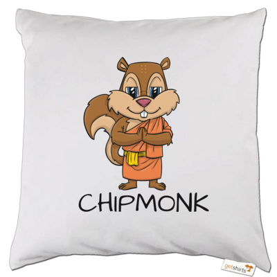 Motiv: Kissen - drawinkpaper - Chipmonk 1