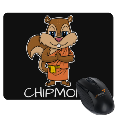 Motiv: Mousepad Textil - drawinkpaper - Chipmonk 1