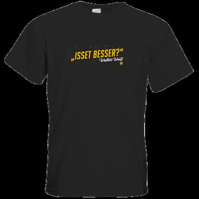 Motiv: T-Shirt Premium FAIR WEAR - Walter Weiss - Isset besser