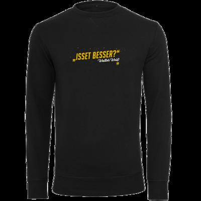Motiv: Light Crew Sweatshirt - Walter Weiss - Isset besser
