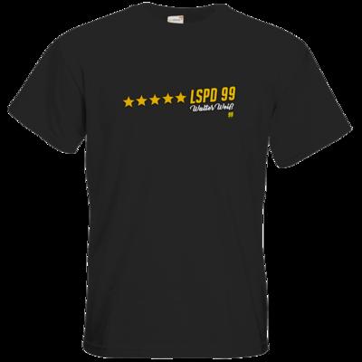 Motiv: T-Shirt Premium FAIR WEAR - Walter Weiss - LSPD 99